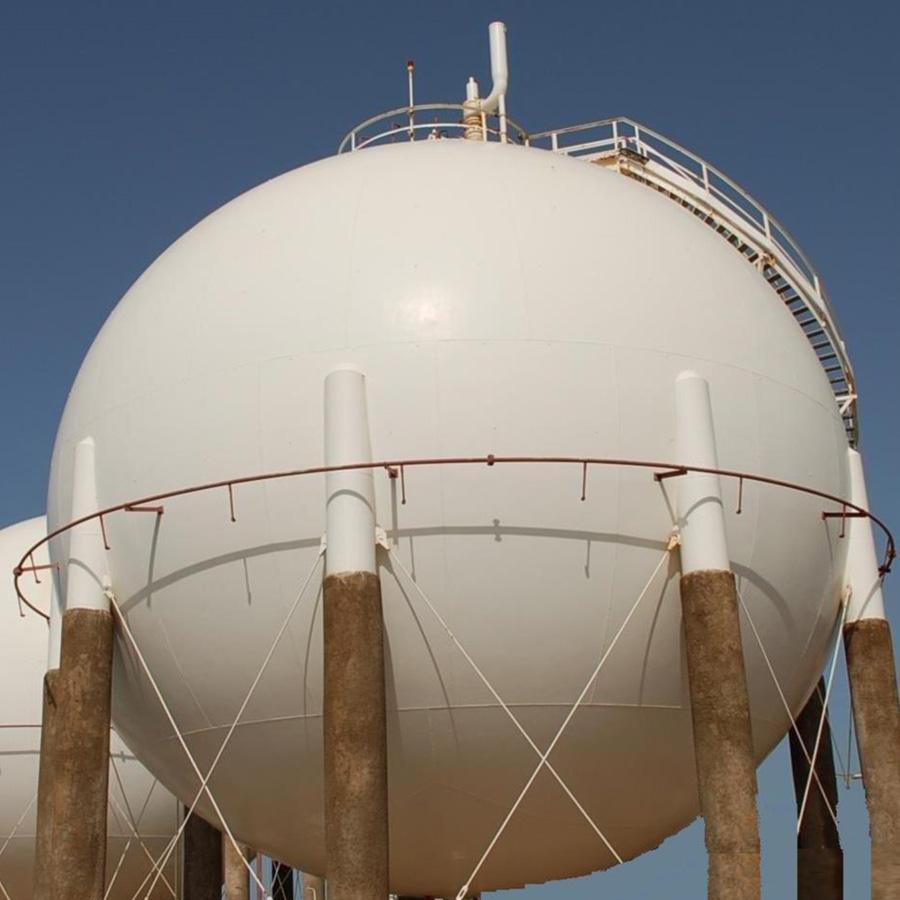 Construction Gas Tank : Fuel tank farm construction asia megavo co ltd